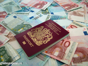 bigstock-Passport-And-Euros-3010563