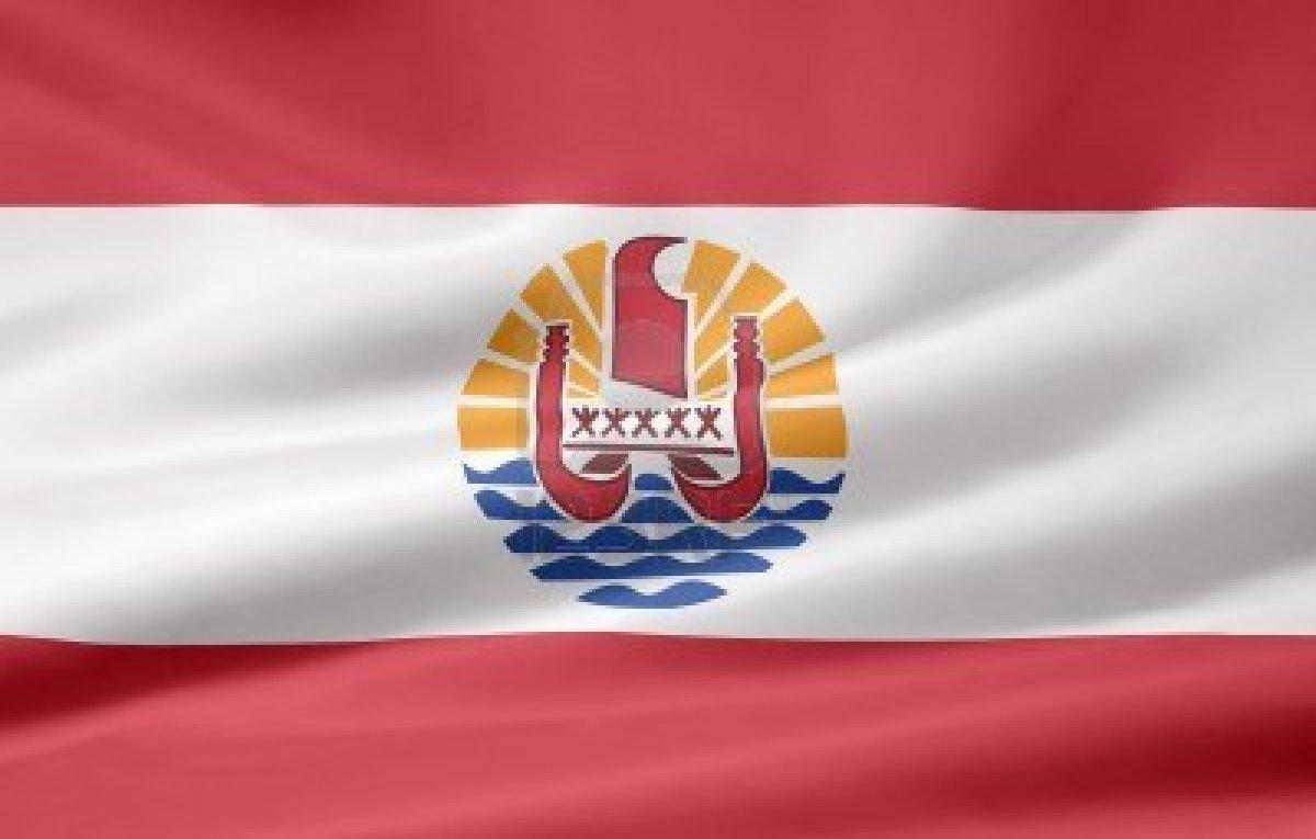 drapeau Tahiti