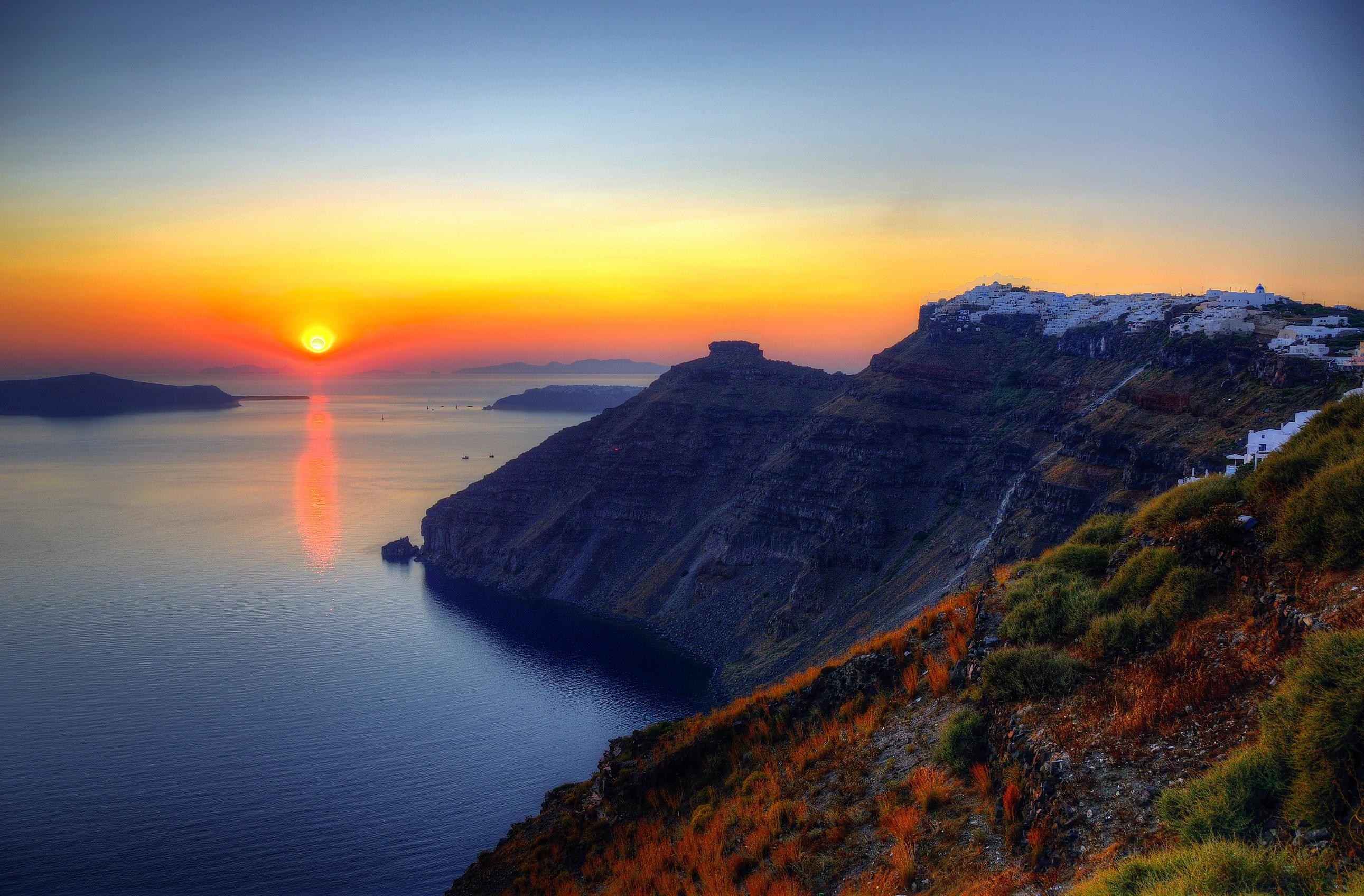 Coast_Greece_Sea_Sunrises_and_sunsets_Scenery_Nature_2582x1696