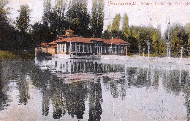 Bucureşti - Restaurantul Monte Carlo din Cişmigiu