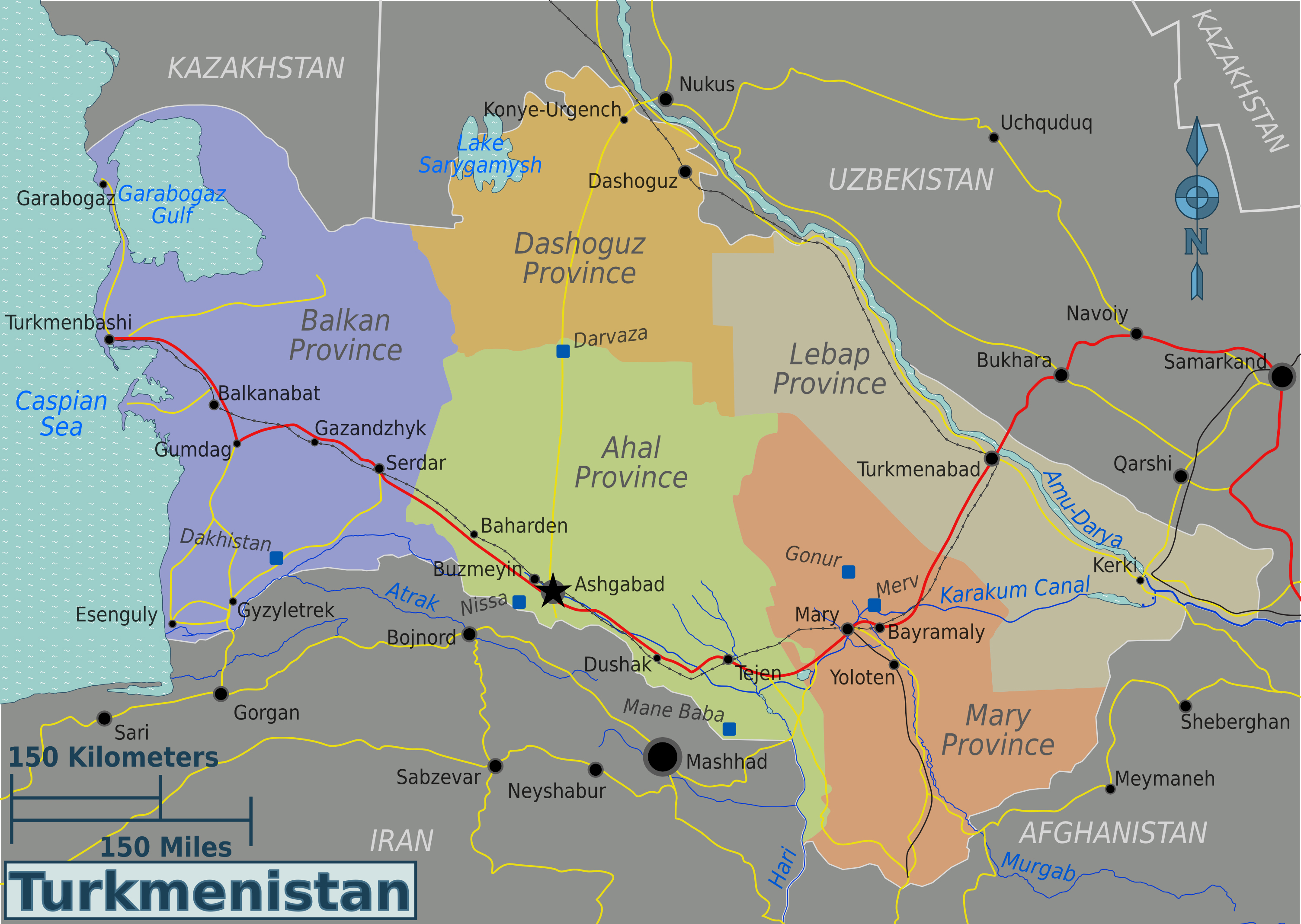 large_detailed_administrative_and_road_map_of_turkmenistan